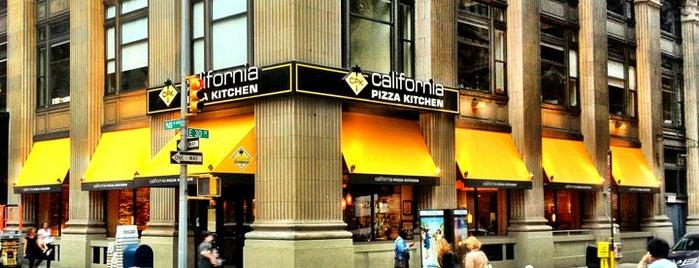 California Pizza Kitchen is one of Flatiron Schmancy Sitdown Lunches.