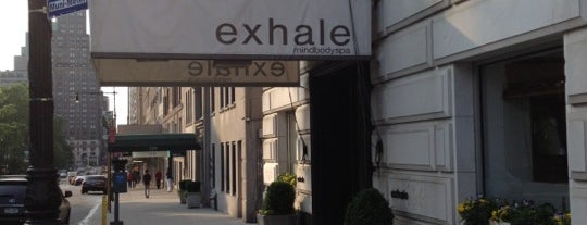 Exhale Central Park South is one of NYC's Upper West Side.