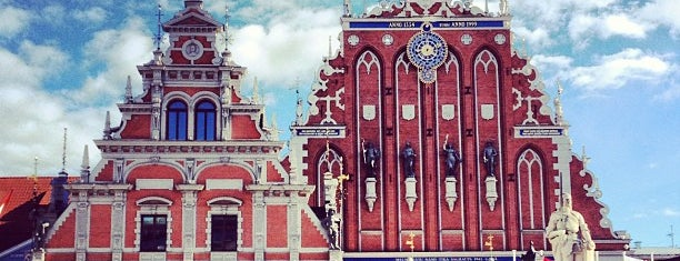 Rātslaukums | The Town Hall square is one of Monuments and Sculptures of Riga.
