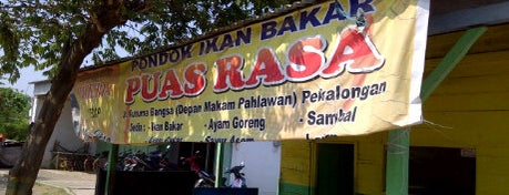Pondok Ikan Bakar Puas Rasa is one of Pekalongan World of Batik.