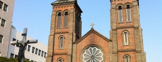 계산성당 (Kyesan Cathedral) is one of Korean Early Modern Architectural Heritage.