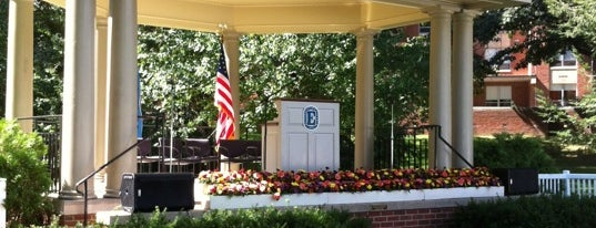 The Dell is one of Elizabethtown College.