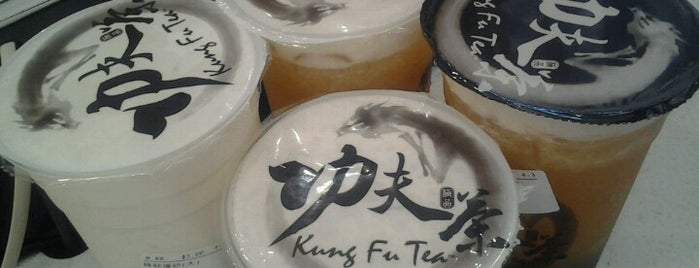Kung Fu Tea (功夫茶) is one of to try.