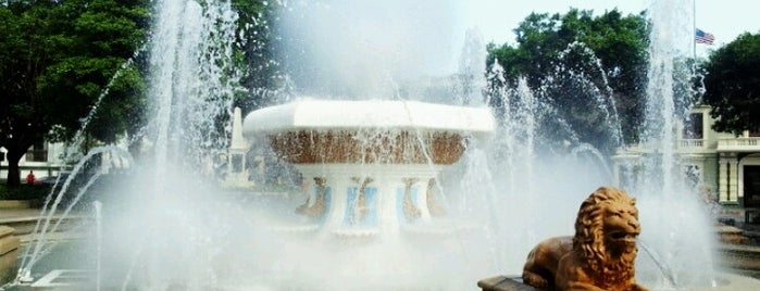 Plaza Las Delicias is one of Ponce #4sqCities.