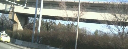 Atlanta BeltLine Corridor under I-20 is one of my places...