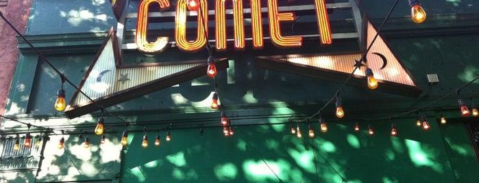 Comet Ping Pong is one of Favorite DC Restaurants.