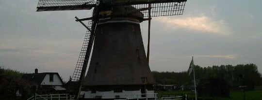 Molen van de polder Westbroek is one of Dutch Mills - North 1/2.