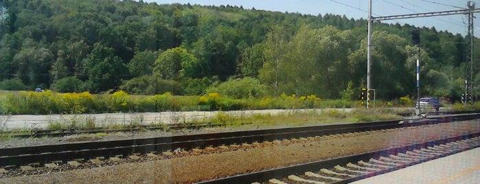 Železniční stanice Děhylov is one of Linka S1/R1 ODIS Opava východ - Český Těšín.