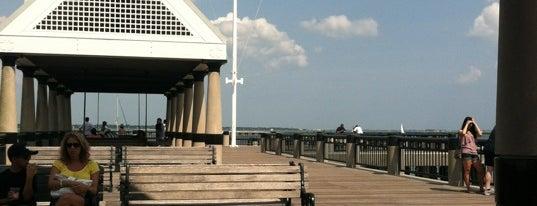 Charleston Pier Swings is one of my charleston places.