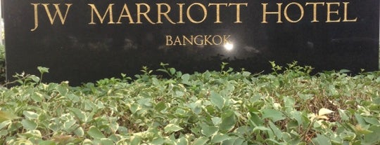 JW Marriott Hotel Bangkok is one of Hotel.