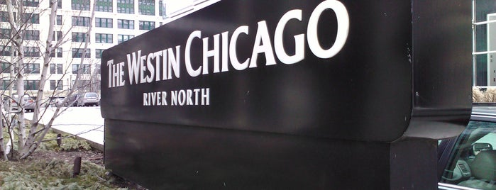 The Westin Chicago River North is one of Airports and hotels I have known.