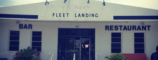 Fleet Landing is one of Great restaurants in Charleston.