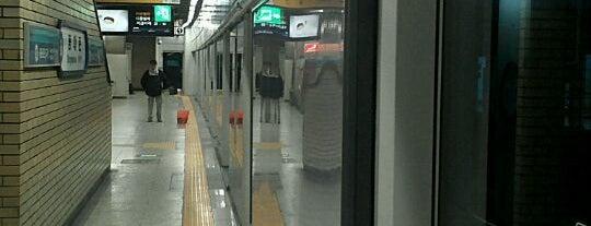 종로5가역 (Jongno 5(o)-ga Stn.) is one of Subway Stations in Seoul(line1~4 & DX).