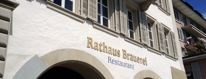 Rathaus Brauerei is one of #squareBuckets.