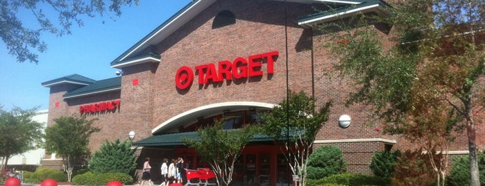 Target is one of Charleston, SC.