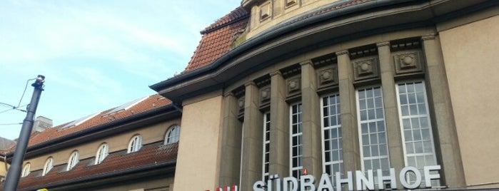 Bahnhof Frankfurt (Main) Süd is one of Ausgewählte Bahnhöfe.