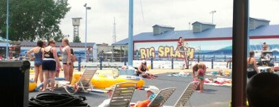 Big Splash Water Park is one of Livin' on Tulsa Time.