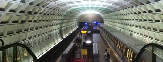 Capitol South Metro Station is one of WMATA Silver Line.