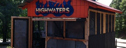 The Highwaters Grill is one of PA Shooflyer.