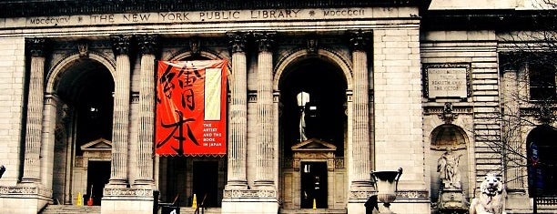 New York Public Library is one of NYC I see.