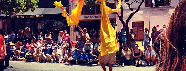 Summer Solstice Parade is one of Spin the Globe in Santa Barbara.