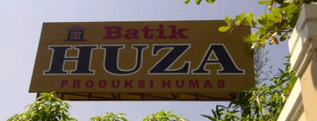 Batik Huza is one of Pekalongan World of Batik.