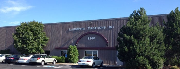 Landmark Creations is one of Steph's Frequent Hangs.