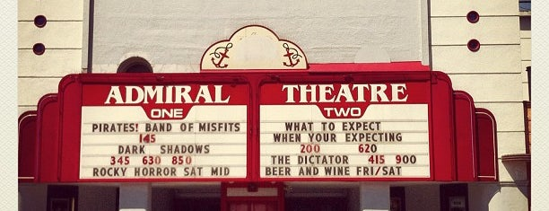 Admiral Theater is one of Seattle Theaters.