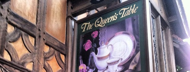 The Queen's Table is one of Epcot World Showcase.