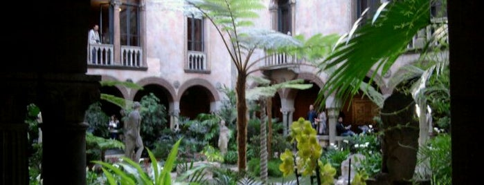 Isabella Stewart Gardner Museum is one of Boston Area Art Museums.