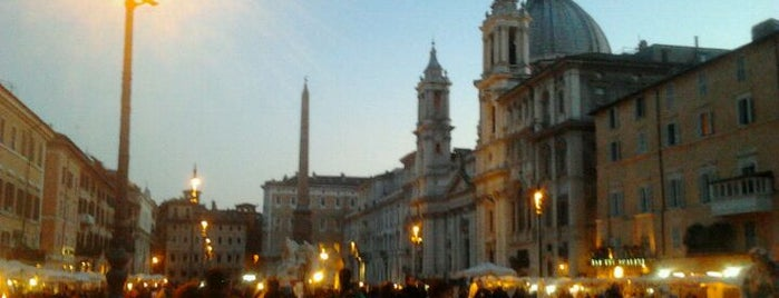 Piazza Navona is one of La Dolce Vita - Roma #4sqcities.