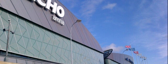 Echo Arena Liverpool is one of Liverpool.