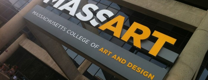 Massachusetts College of Art and Design is one of Longwood Medical Area.