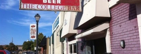 The College Bar is one of Stillwater's Cowboy Combo.