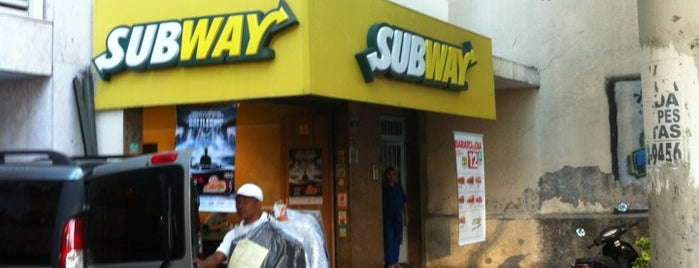 Subway is one of chillaxing.