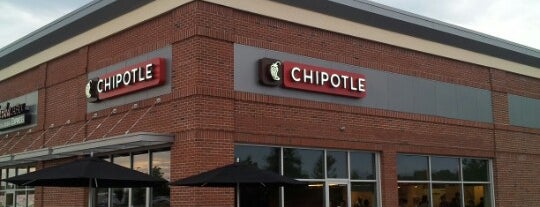 Chipotle Mexican Grill is one of Favorite Places.