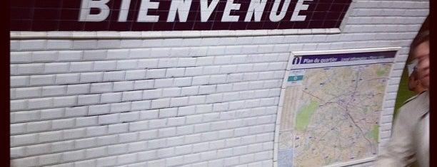 Métro Montparnasse–Bienvenüe [4,6,12,13] is one of Paris, FR.