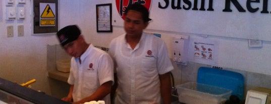 Sushi Ken is one of Luis Roberto's tips.