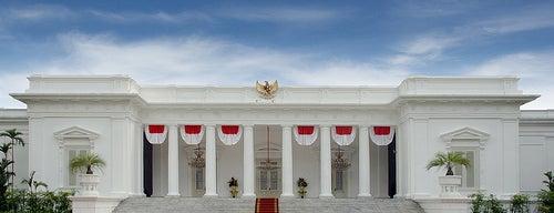 Istana Kepresidenan Jakarta (Istana Negara & Istana Merdeka) is one of Enjoy Jakarta 2012 #4sqCities.