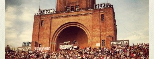 Stadio Renato Dall'Ara is one of Bologna City Badge - Bolognese.