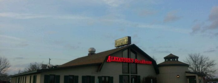 Alexander's Steakhouse is one of Chambana Dining.