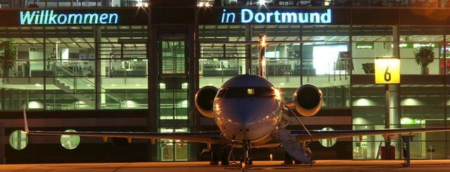 Dortmund Airport (DTM) is one of Airports.