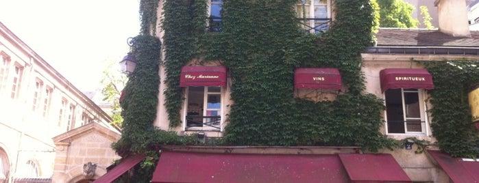 Chez Marianne is one of Paris.