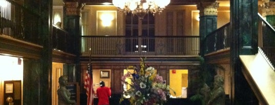 Natchez Eola Hotel is one of Guide to Natchez's best spots.