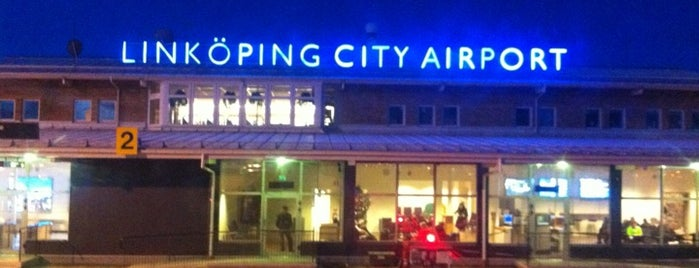 Linköping City Airport (LPI) is one of Airports - Sweden.