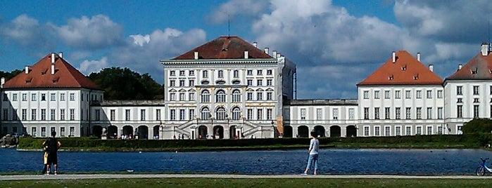 Nymphenburg Palace is one of MUC Kultur & Freizeit.