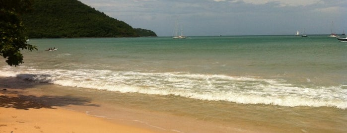 Reduit Bay Beach is one of 36 hours in...St Lucia.