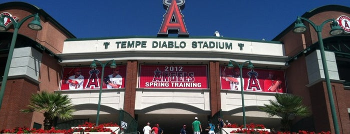 Tempe Diablo Stadium is one of Phoenix.