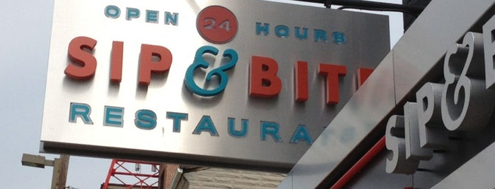 Sip & Bite Restaurant is one of Diners, Drive-Ins & Dives.