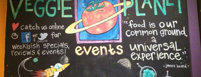 Veggie Planet is one of Restaurants.